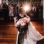Wedding Dance Dip Couple: Tegan & Bryn